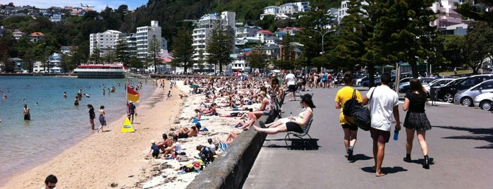 Oriental Bay is one of Places with Personality in Wellington.