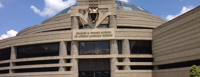 Charles H Wright Museum of African American History is one of Fun Go-to-Spots.