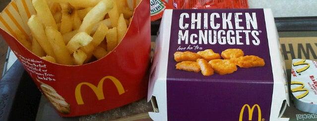 McDonald's is one of Foods.