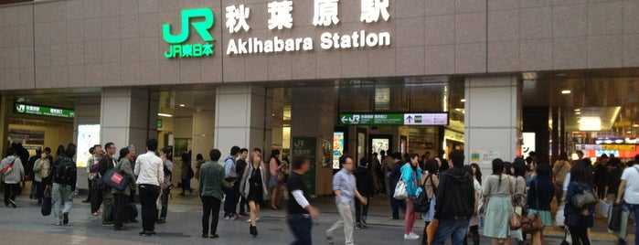 Akihabara Station is one of 京浜東北線.