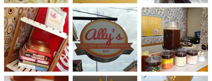 Ally's All-Day Breakfast Place is one of ?.