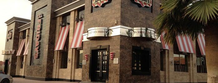 T.G.I. Friday's is one of Restaurants in Riyadh.