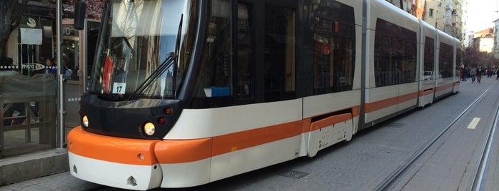 Eczacılık Fakültesi Tramvay Durağı is one of Eskişehir SSK - Otogar Tramvay Hattı.