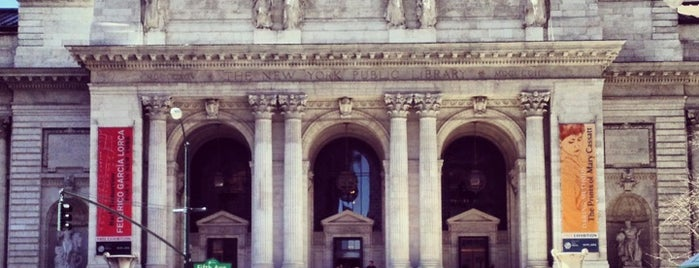 New York Public Library is one of MoMA: Landmarks of Modern Architecture.