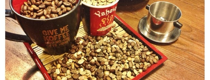 Yahava KoffeeWorks is one of Cafes To Visit!.