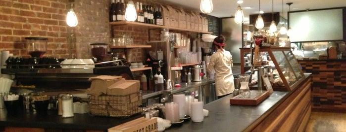 Irving Farm Coffee Roasters is one of Manhattan's Best Coffee by Subway Stop.