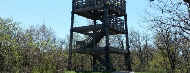 Lapham Peak Observation Tower is one of Get Your Ass Outside.