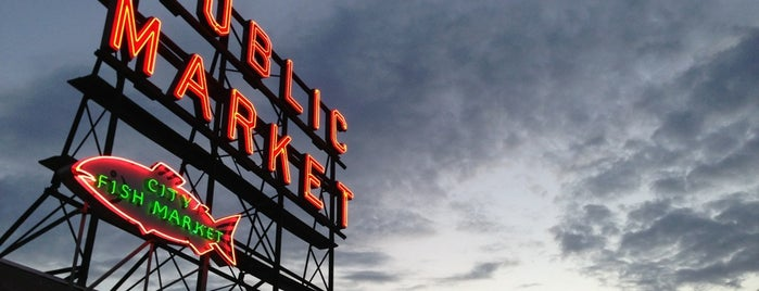 Pike Place Market is one of Seattle for Visitors.