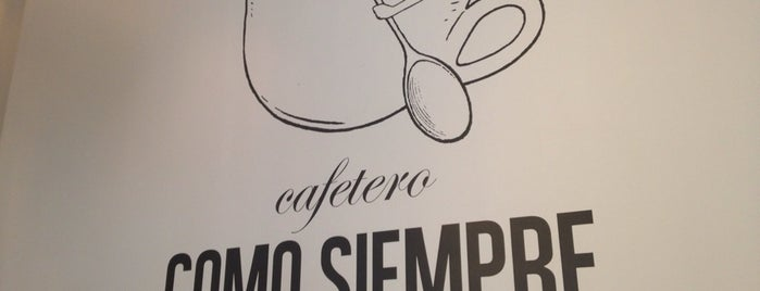 COMO SIEMPRE is one of Coffee&desserts.