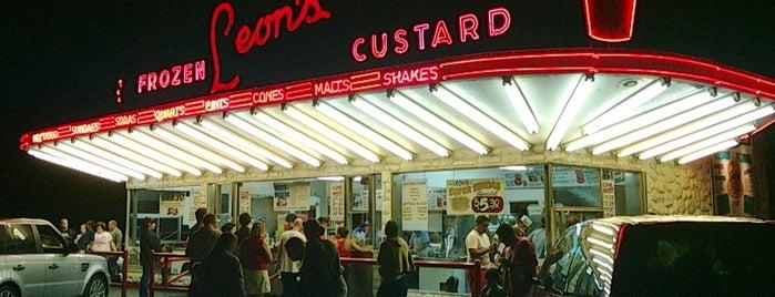 Leon's Frozen Custard is one of Interesting info, etc.