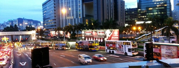 Cross-Harbour Tunnel Bus Stop is one of boggle.