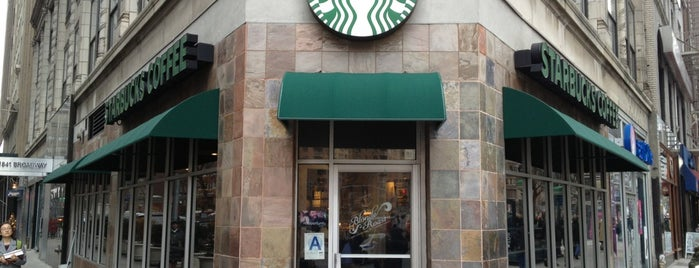 Starbucks is one of Must-visit Food Around Forty Duece.