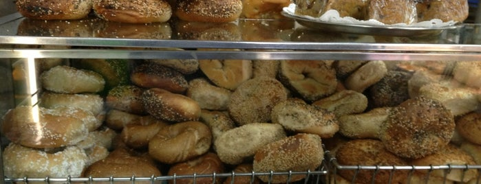 Absolute Bagels is one of NYC.