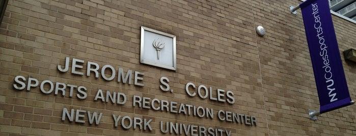 NYU Jerome S. Coles Sports & Recreation Center is one of NYU Graduate Bucket List.