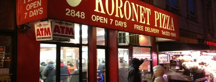 Koronet Pizza is one of columbia area spots.