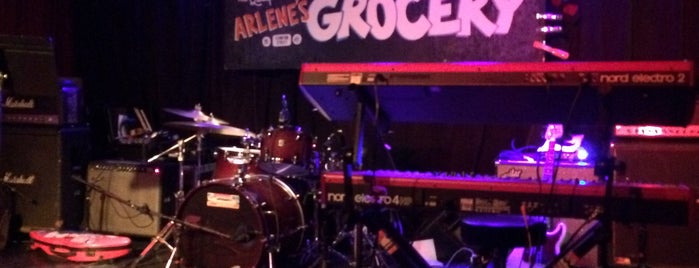 Arlene's Grocery is one of Rock Out With Emerging Talent.