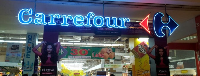 Transmart Carrefour is one of my place.