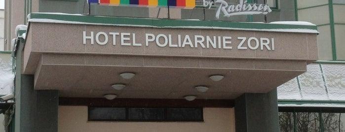 Park Inn Полярные Зори is one of Еда ням-ням.