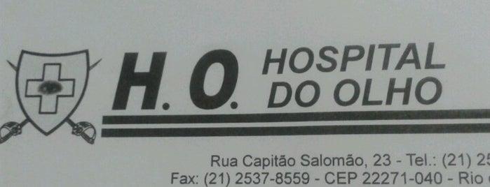 Hospital do Olho is one of Empresas e Estabelecimentos de Botafogo RJ.
