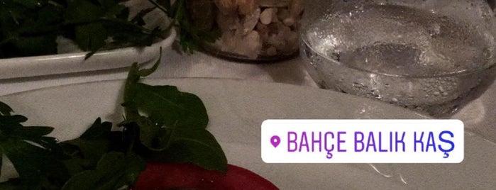 Bahçe Restaurant is one of Kaş kalkan fethiye.
