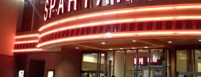 Regal Cinemas Spartan 16 is one of favs 😘.