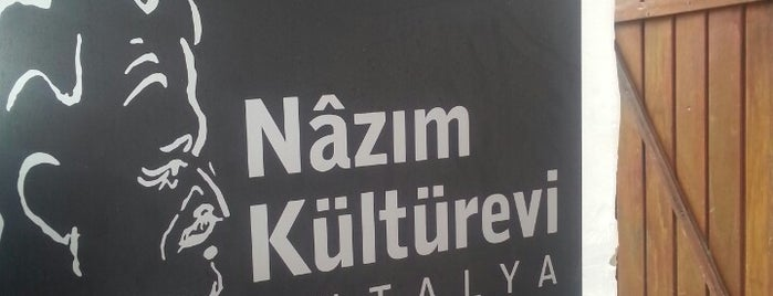 Nazım Kültürevi is one of Yerler - Antalya.