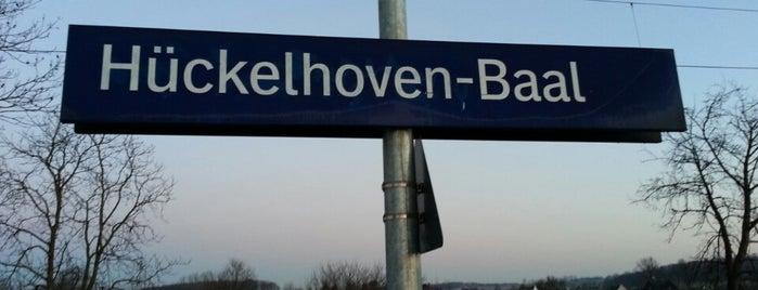 Bahnhof Hückelhoven-Baal is one of Bahnhöfe im AVV.