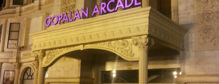 Gopalan Arcade is one of Bangalore Cafes.