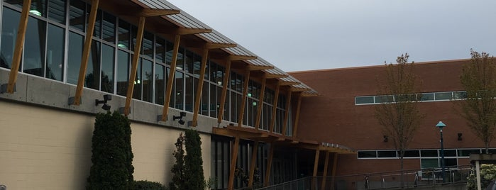 Oak Bay Recreation Centre is one of hang outs.