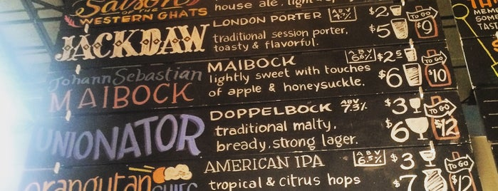 Aeronaut Brewing Company is one of Bars and Restaurants in Boston.