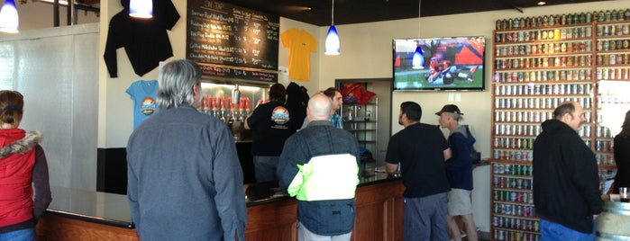 Rip Current Brewing Co. is one of San Diego Brewery and Beer Pubs.
