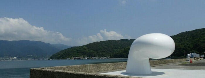 Bollard of Love is one of Art Setouchi & Setouchi Triennale - 瀬戸内国際芸術祭.