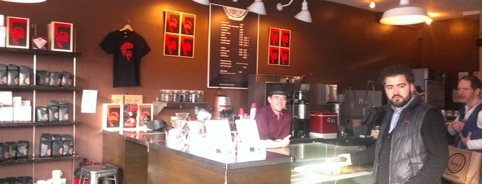 Gorilla Coffee is one of Best Coffices in New York.