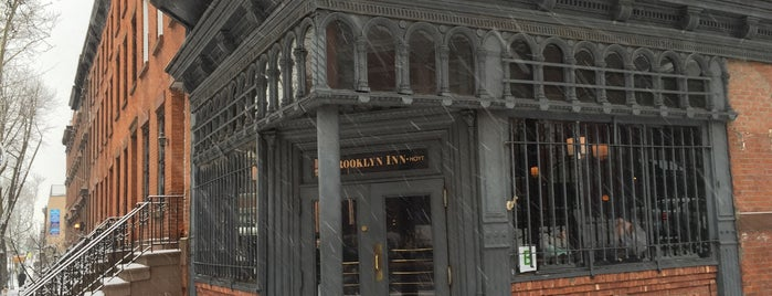 The Brooklyn Inn is one of NY Region Old-Timey Bars, Cafes, and Restaurants.