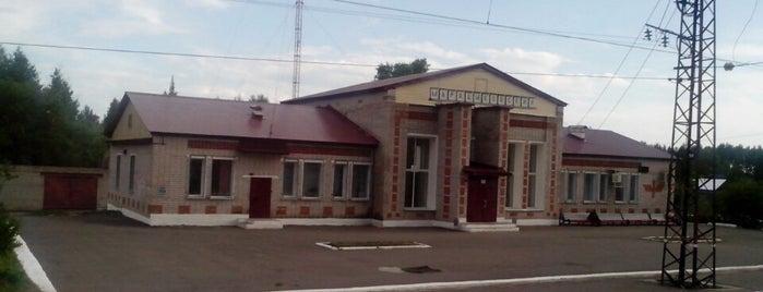 Ж/Д станция Марадыковский is one of Транссибирская магистраль.