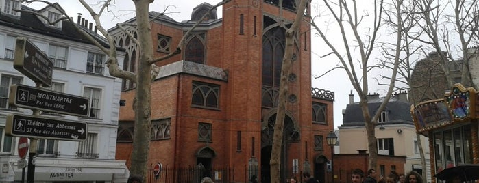 Église Saint-Jean de Montmartre is one of Paris.