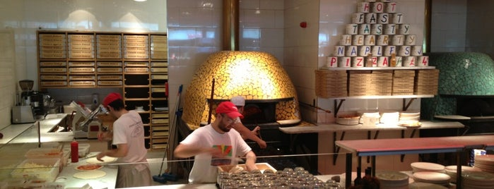 Franco Manca is one of Pizza and more pizza.