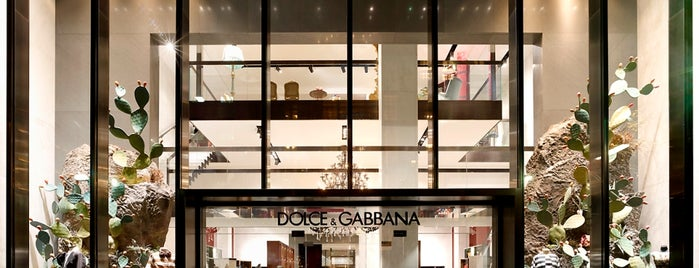 Dolce&Gabbana is one of it place.
