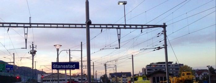 Bahnhof Stansstad is one of Bahnhöfe.