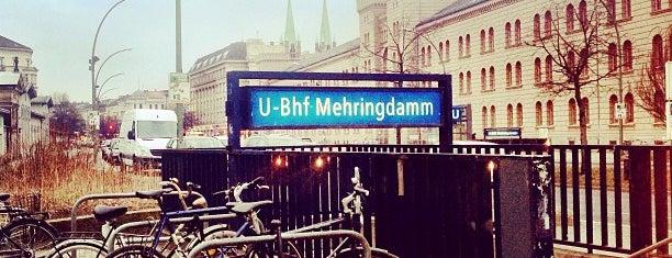 U Mehringdamm is one of U-Bahn Berlin.