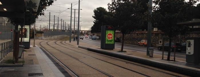 Station Saint-Pierre [T1] is one of Tramway de Marseille.