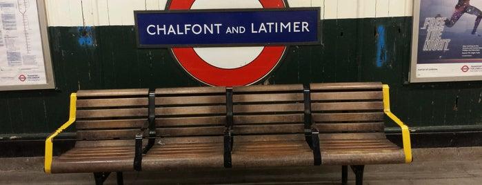 Chalfont & Latimer London Underground Station is one of Tube Challenge.