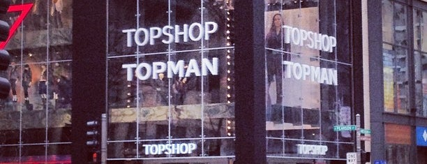 Topshop Topman is one of Chicago To Do's.