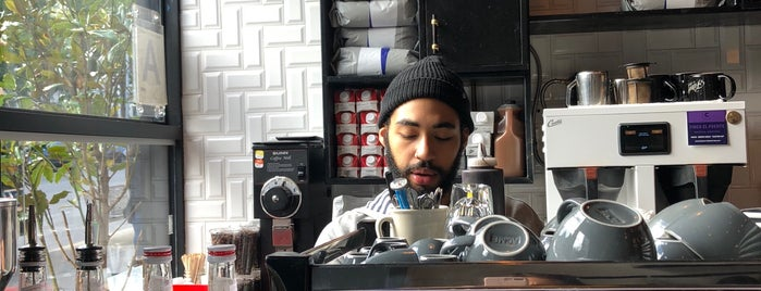 Filtered Coffee is one of Dining in Harlem (cafes, bistros, sandwich shops).