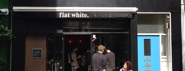 Flat White is one of London's Best Coffee - 2013.
