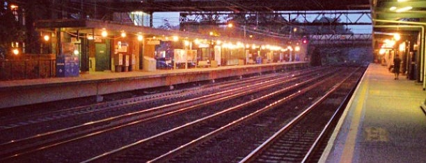 Metro North - Harrison Train Station is one of My Places.