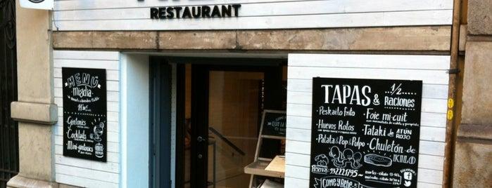 El Kilo is one of Restaurants in Barcelona.