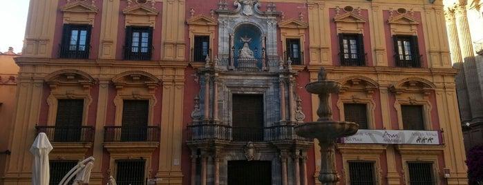 Palacio Episcopal is one of Qué visitar en Málaga.