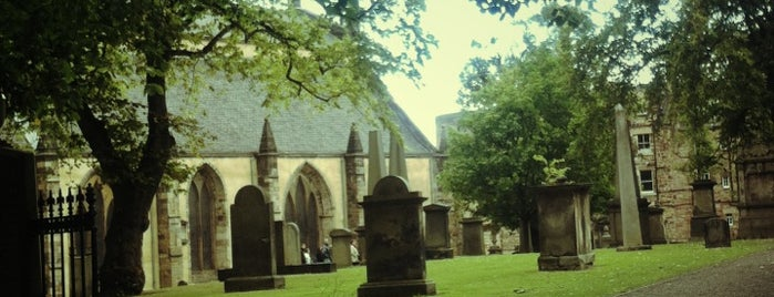 Greyfriars Kirkyard is one of Harry Potter sights.