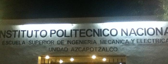 Escuela Superior de Ingeniería Mecánica y Eléctrica - ESIME Azcapotzalco is one of DF Todas.
